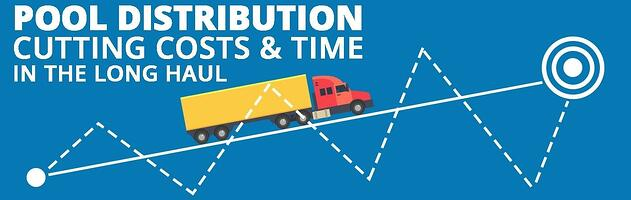 Using a pool distribution strategy can cut costs and time in a supply chain