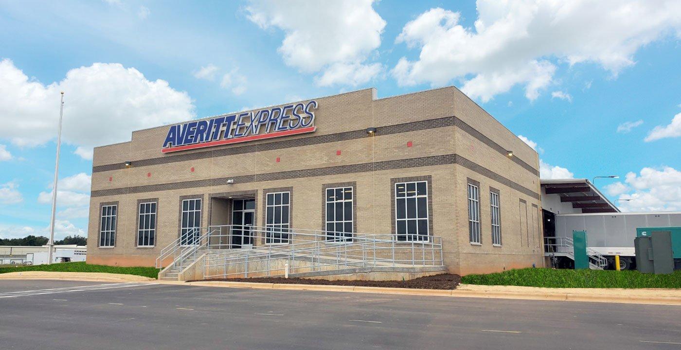 Averitt's new service center that serves the Greensboro, NC area
