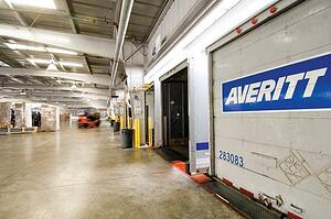Canada-bound freight is consolidated at Averitt service centers
