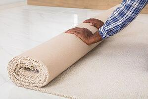 Remove all rugs that could cause someone to slip or fall.