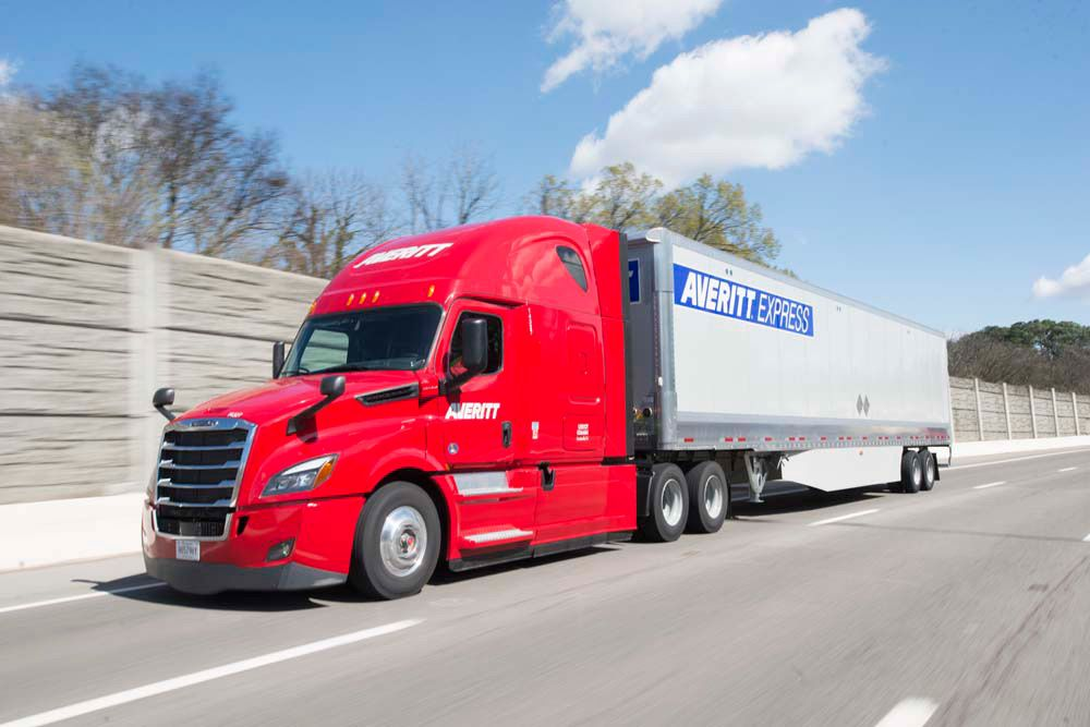 Consolidated freight can be shipped via truckload to reduce costs.
